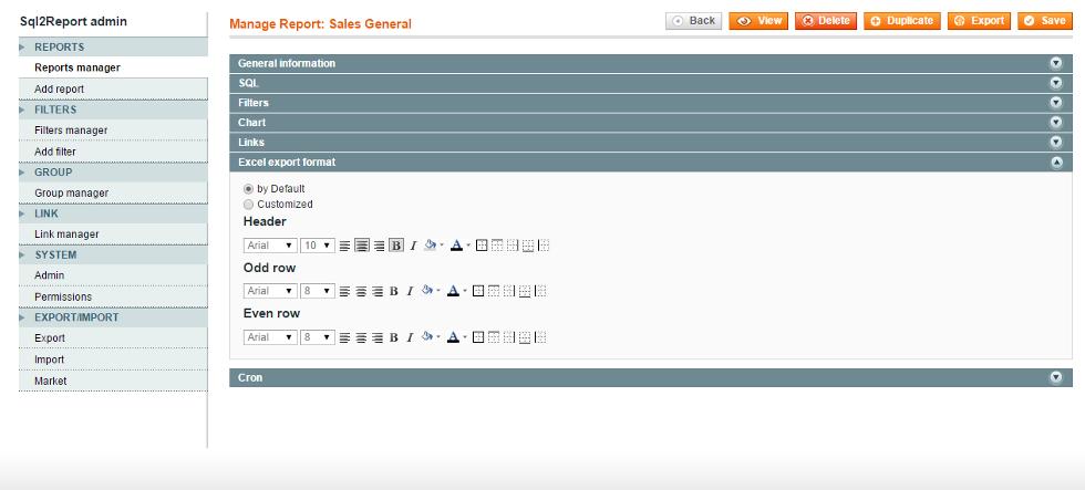 5 Report - Excel Format